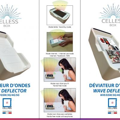 boitier anti ondes Celless Box